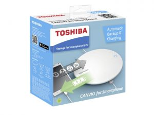 Toshiba 500 GB 2-in-1 external drive