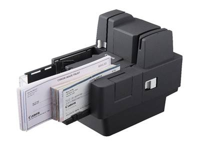 Canon added to its cheque scanner range