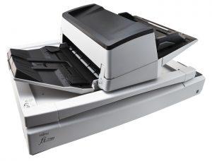 Fujitsu's new document scanner