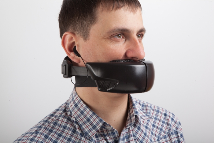 Hushme protecting speech privacy in open space environments.