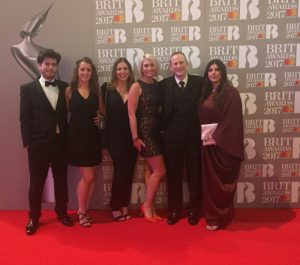 Softcat employees go to the BRIT Awards