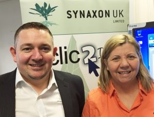 Nathan Addison and Lisa Winstanley - new appointments to Synaxon