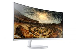 Samsung Quantum dot premium curved monitor