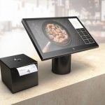 HP ElitePOS all in one point of sale system