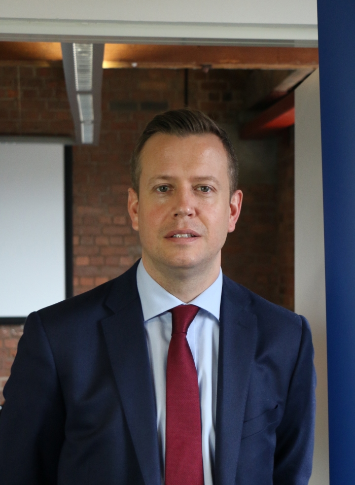 Greig Millar, General Manager for Sales