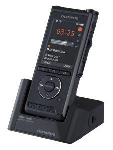 Olympus portable dictation device