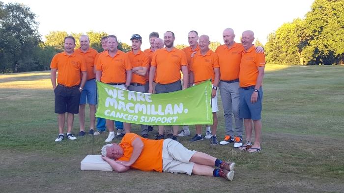 A golfing marathon