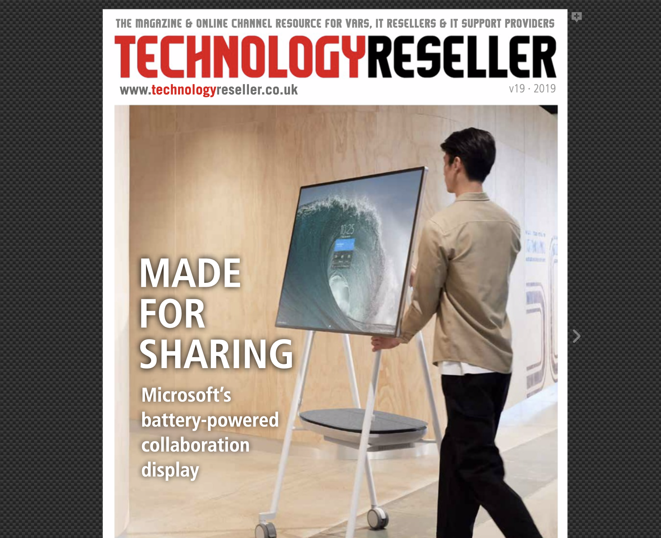Technology reseller issue V19: Read online or download here