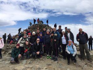 Mount Snowdon challenge undertaken by staff
