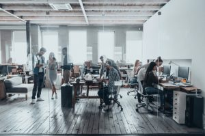 Challenges of working in open plan offices