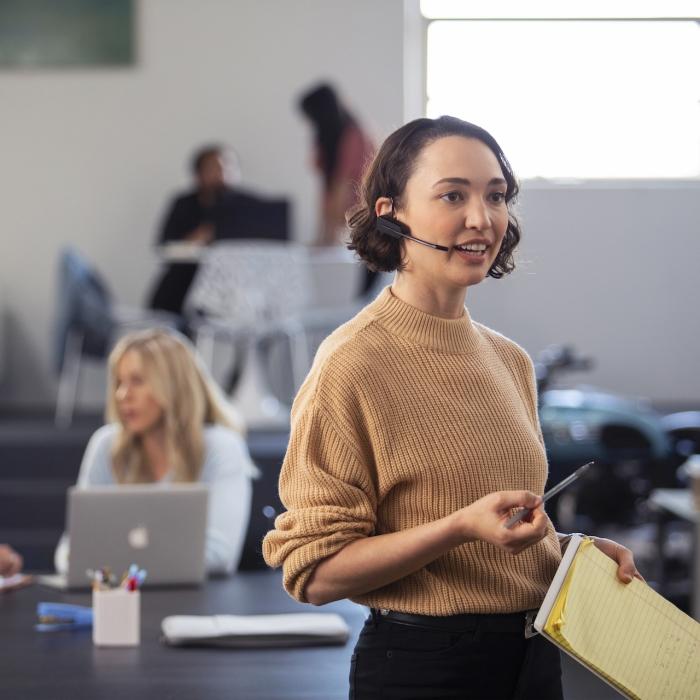 Savi Office wireless headset
