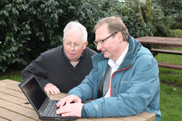 Inventors Jon Beal and Jonathan Craymer